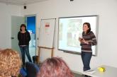 Presentació de les mestres de l'Escola Sagrada Família.