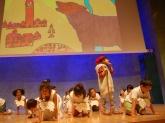 Actuació de l'alumant de l'escola Drassanes i l'Escola Municipal de Música de l'Eixample.