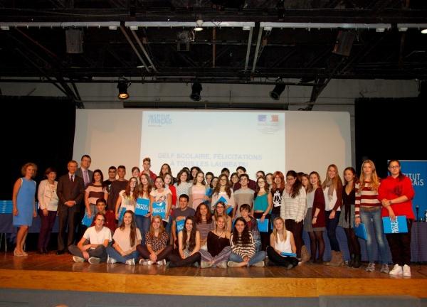 Es lliuren els certificats del delf a l alumnat de - Institut frances de barcelona ...