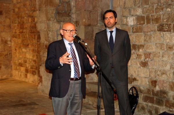 Manel Blasco i Llucià Homs.
