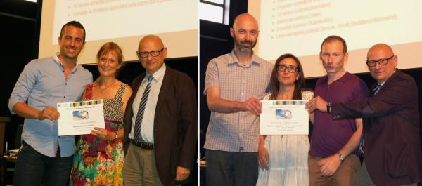 L'Escola Palma de Mallorca, primer premi de la modalitat individual, i l'Institut Moisès Broggi, primer premi de la modalitat de centre (compartit amb l'Ins Quatre Cantons).