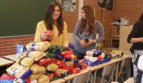 Banc d'aliments