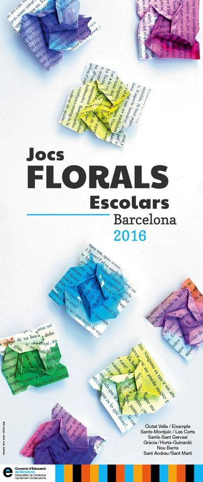 Cartell jocs florals 2016