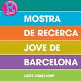 Coberta de la publicació de la Mostra de recerca jove de Barcelona
