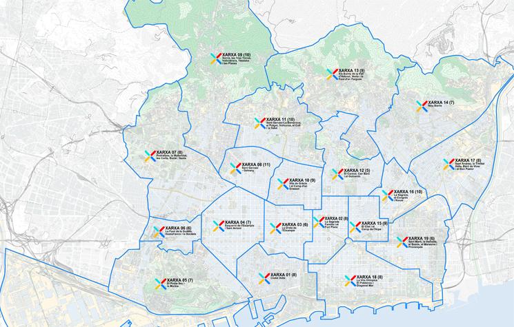 Mapa de les Xarxes per al canvi