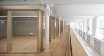 Perspectiva d'instal·lacions interiors per estrenar