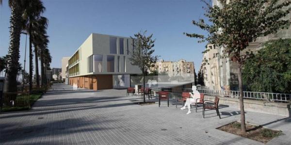 Imatge virtual del futur edifici